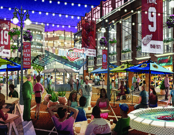 New Little Caesars Arena Is A Detroit Game Changer Michigan